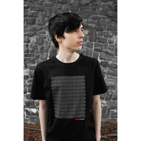Camiseta Casual RED WOLF