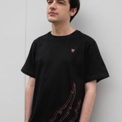Camiseta Casual Garras
